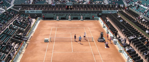 The biggest clay court tennis event takes place in Paris